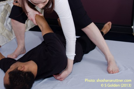Thai massage for shoulders / epaules
